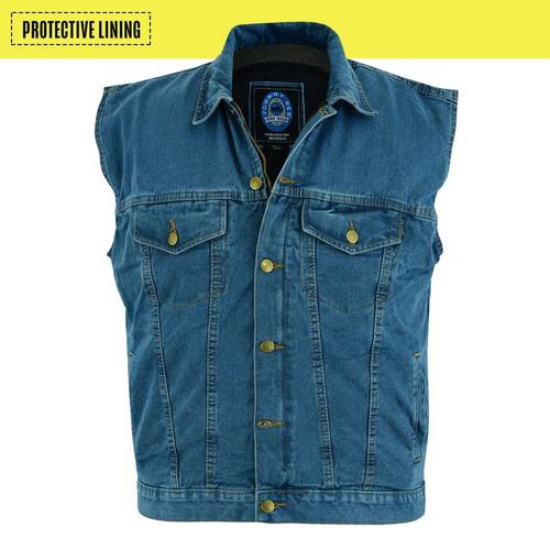 Johnny Reb Glenbrook Blue Denim Vest with Kevlar® Lining (JRV10033)