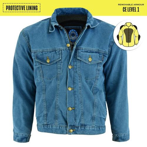 Johnny Reb Glenbrook Blue Denim Jacket with Kevlar® Lining (JRJ10037)