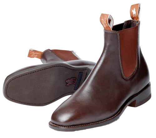 Thomas Cook Trentham Mens Dress Boots, Chestnut