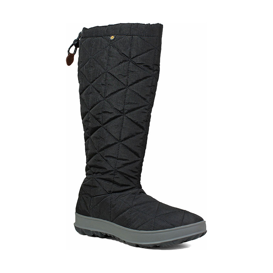 85336933fe3 Details about BOGS Snowday Tall Women's Insulated Waterproof Winter Boots  in Black