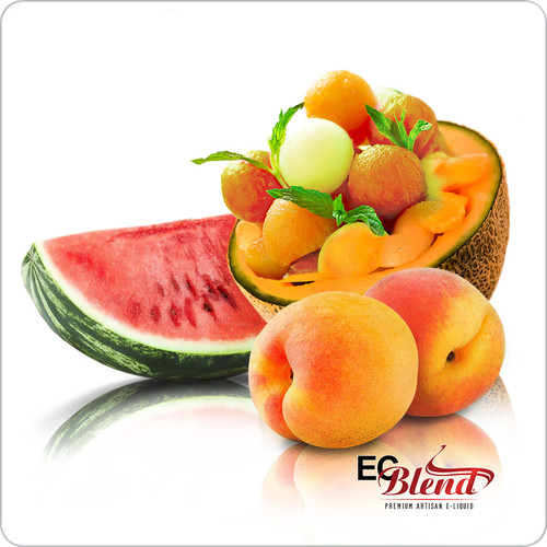 Peach Watermelon Cantaloupe - Premium Artisan E-Liquid | ECBlend Flavors
