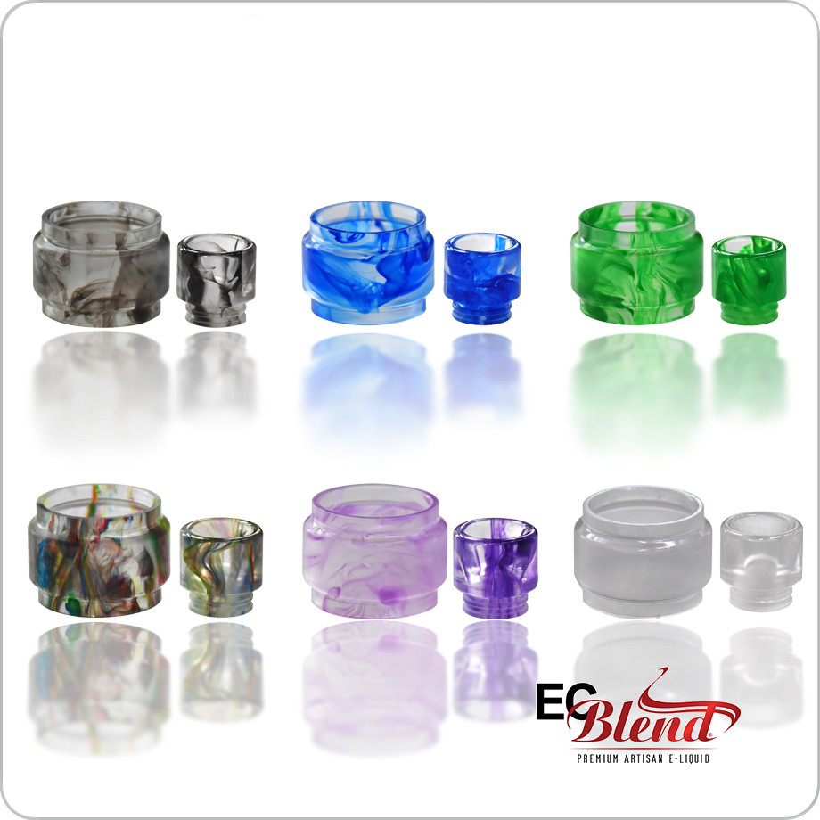 Clearomizer Replacement Tank/Drip Tip Set - Blitz - TFV12 Prince