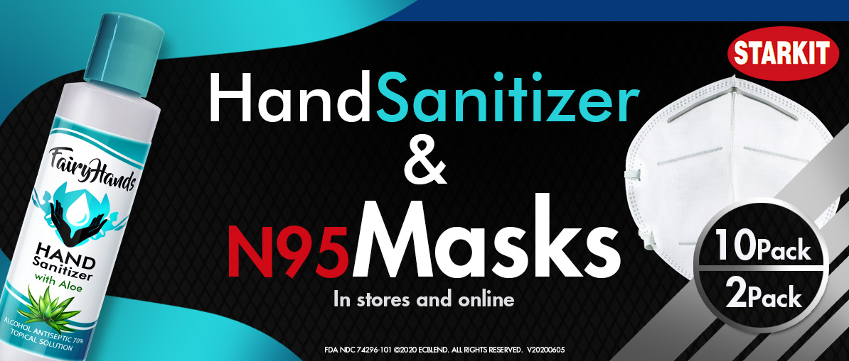Hand Sanitizer and N95 Masks