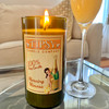 Morning Mimosa Soy Wine Bottle Candle