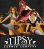 The new Fairy Tale collection from Tipsy Candle Company.