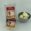 Peach Champagne Wax Melts made by Tipsy Candle Company.
