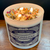 Moonshine 3 wick soy candle - lifestyle picture.