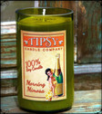 Morning Mimosa Soy candle.  Try our Morning Mimosa for Sunday brunch or anytime perfection.  Fragrance is fresh oranges.