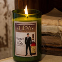 Scotch and Soda 14 ounce soy candle made by Tipsy Candle Company.