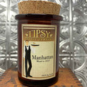 Manhattan 6 oz Tumbler with Cork Top made by Tipsy Candle Company