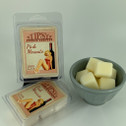 Pink Moscato Soy Wax Melts made by Tipsy Candle Company.