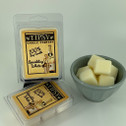 Sparkling White Soy Wax Melts made by Tipsy Candle Company.