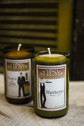 The Manhattan and Scotch and Soda Candle made by Tipsy Candle Company.