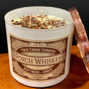 Porch Whiskey 3 wick candle top