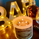 Porch Whiskey 3 wick candle - Lifestyle picture - next life style pictures