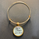 Life is a Party - Charm Bracelet