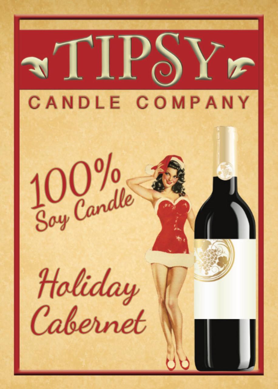 Holiday Cabernet  | Soy Candle
