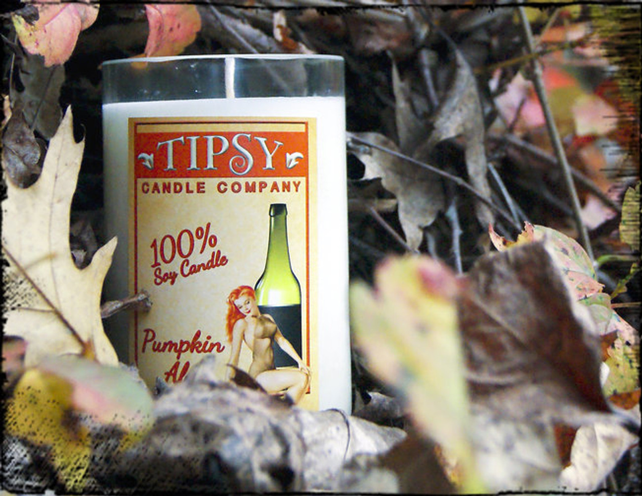 Get ready for fall with this Pumpkin Ale soy candle.