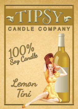 Lemon Tini front label