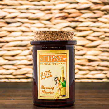 Morning Mimosa Soy candle in Tumbler container