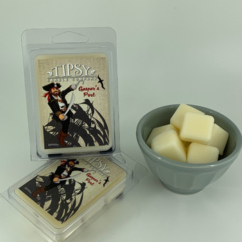 Gaspar's Port Soy Wax Melts made by Tipsy Candle Company.