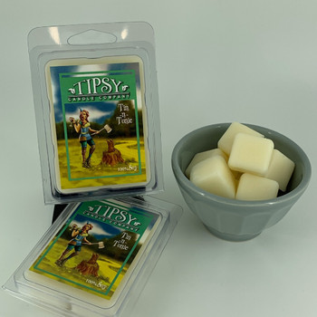 Tin-nTonic Soy Wax Melts made by Tipsy Candle Company.