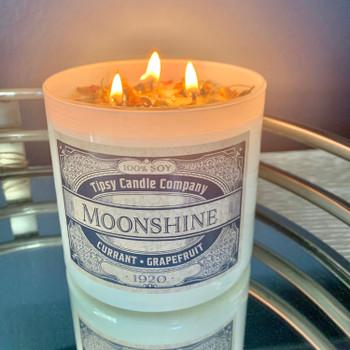 Moonshine Soy candle