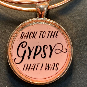 Back to the Gypsy that I was - Charm Bracelet