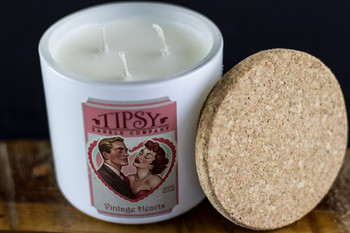 Vintage Hearts Limited Edition | Soy Candle