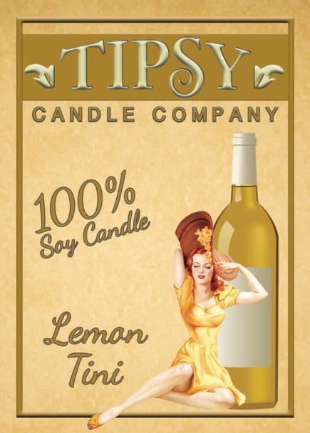 Lemon Tini front label