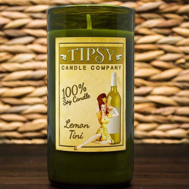 Lemon-Tini | Soy Wine Bottle Candle