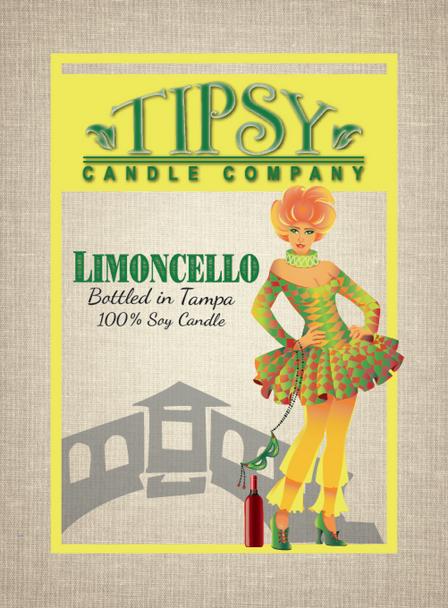 Limoncello Front Label