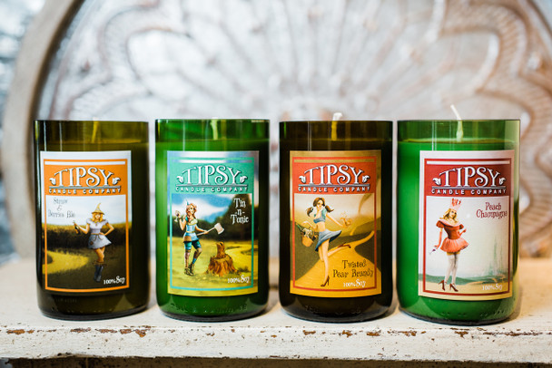 Tipsy Candle Company Fairy Tale candle series.