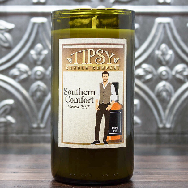 Southern Comfort 14 ounce soy candle made by Tipsy Candle Company