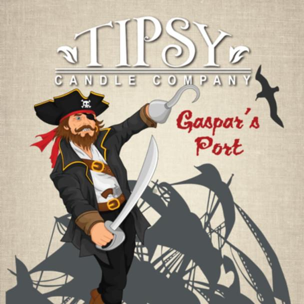 Gaspars Port Candle Label