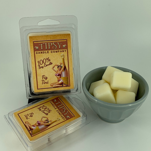 Fig Tini Soy Wax Melts made by Tipsy Candle Company.