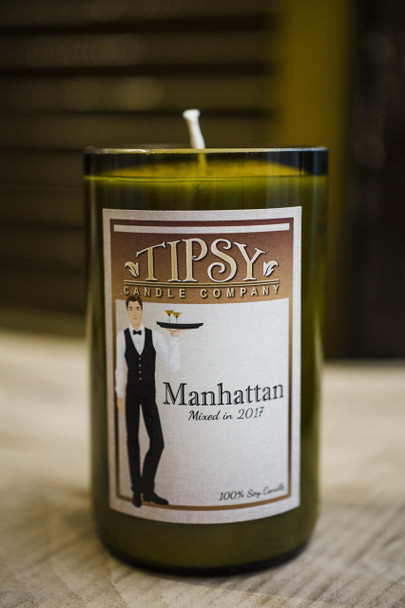 The Manhattan Soy Candle made by Tipsy Candle Company.