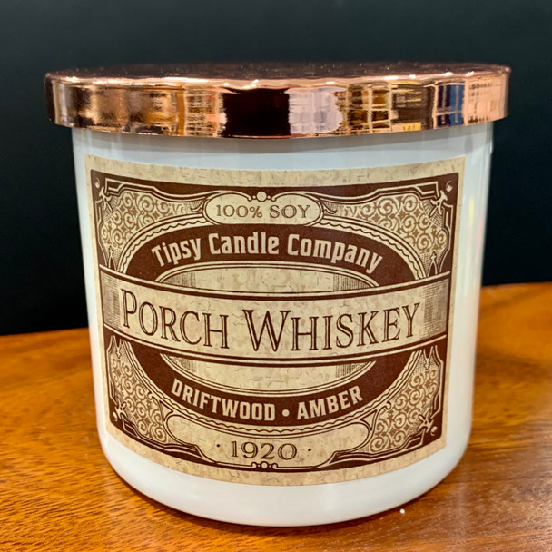 Porch Whiskey 3 wick candle