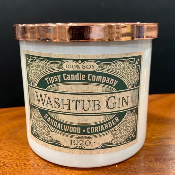 Washtub Gin 3-wick soy candle