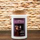 Midnight Merlot 6oz Soy Candle in Tumbler Glass with Cork Top