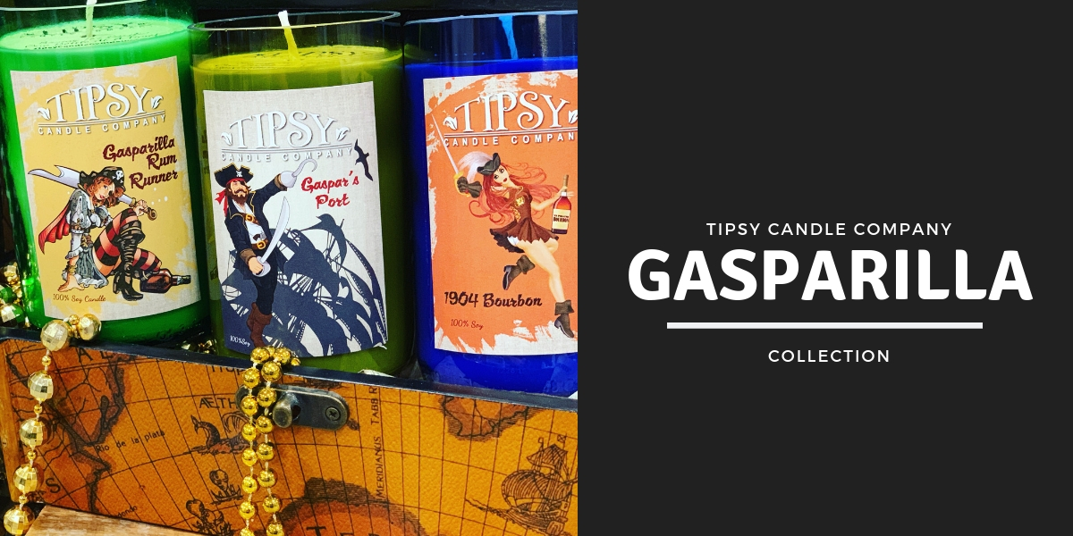 Gasparilla Candles by Tipsy Candle Company
