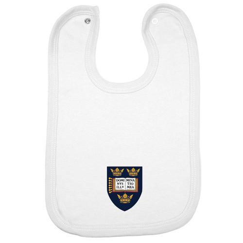 Official Oxford University Crest Logo Baby Bib