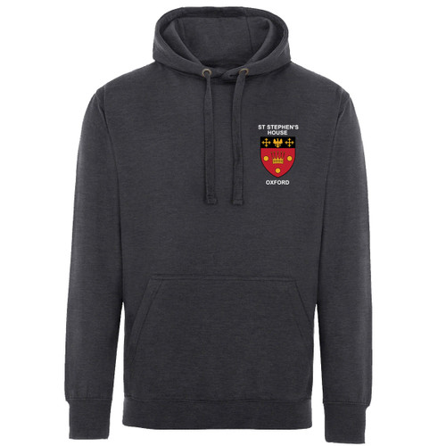 St Stephen's House College Embroidered Hoodie - Charcoal