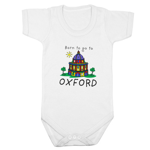 Born to go to Oxford' - Baby Bodysuit