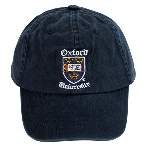 Official Oxford University Shield 'Old English' Baseball Cap