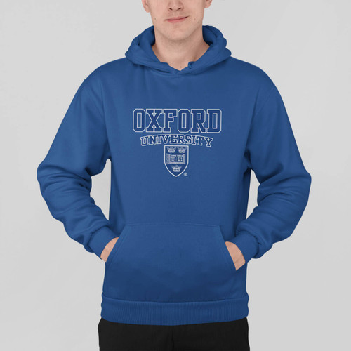Official Oxford University Crest Hoodie