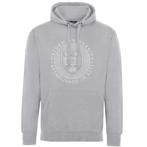 Official Oxford University Distressed Crest Hoodie