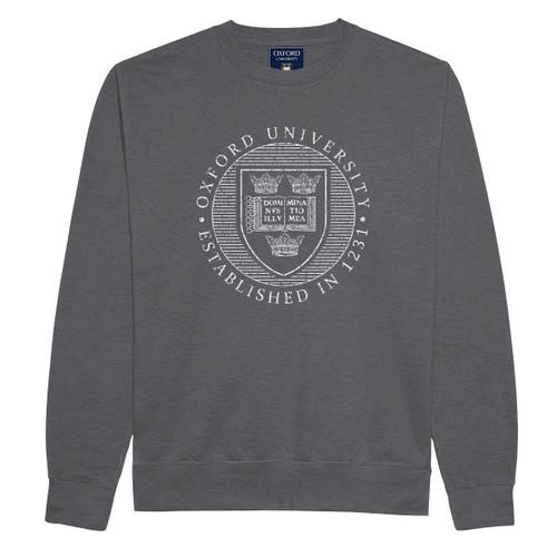 Official Oxford University Distressed Crest Sweatshirt