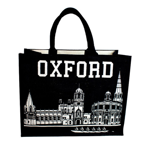 Oxford Skyline Jute Bag