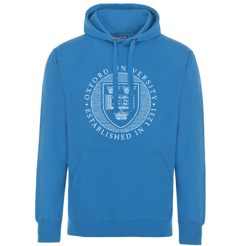 Official Oxford University Distressed Crest Adult Hoodie